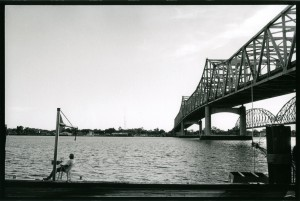Under the bridge . Morgan City , Louisiana.USA.2004.